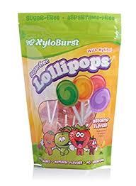 Xyloburst Sugar-Free Xylitol Candy Lollipops Suckers ... - Amazon.com
