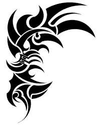 Motiv Tetování Tribal 1394