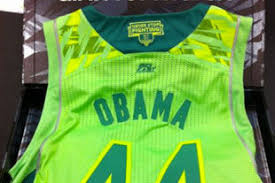 Highlights Latest Sends Videos Jab President After Neon Dame Obama Jersey Notre Uniform News And Bleacher Report