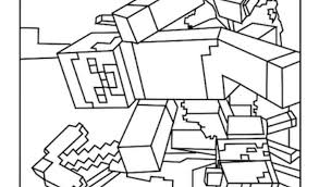 Awesome Minecraft Coloring Pages Printable Best Minecraft Creeper