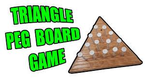 Wooden Triangle Peg Game How to Build a Triangle Peg Board Game and How to Beat it YouTube 32