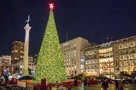 San Franciscou0027s Union Square At Christmas Photo TourChristmas Tree In San Francisco