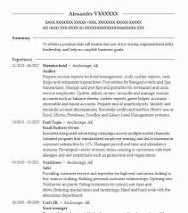Auditing Resumes Best Auditor Resume Example Livecareer