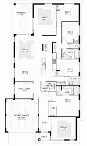 4 Bedrooms House Plans 4 Alluring Four Bedroom House Plans  Home Small 4 Bedroom House Plans