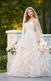 peach wedding dress. Fashion Friday Peach Wedding Gowns Arizona Weddings