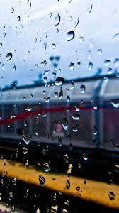 Rainy Train Window iPhone 8 Wallpapers ...