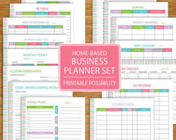 small business planner home business planner etsy business track business income expenses inventory advertising tropical colors bussiness planner