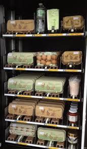 Abt Apple Vending Machine Stunning Grocery Store Vending Machine That Dispenses Eggs I Like The Egg
