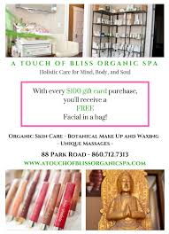 a touch of bliss is offering the ultimate mother s day gift in spa packages treat the special woman in your life the lasting touch of bliss