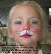 cat face paint looks great on everyone painting