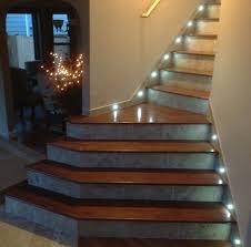 staircase lighting led. A Jatoba Hardwood Staircase With Porcelain Risers And LED Tread Lighting I Built For The Linglebach\u0027s Led