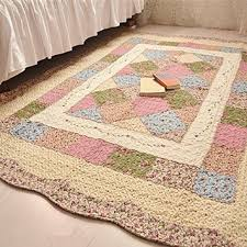 Cheap Washable Cotton Runner Rugs, find Washable Cotton Runner ... & Get Quotations · Ustide Rustic Area Carptes Cotton Filled Quilted Rug  Flower Floor Runner Rug Perfect Geometric Pattern Bedroom Adamdwight.com