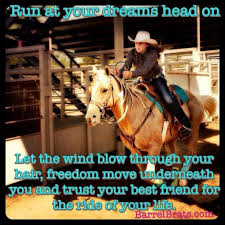 Barrel Racing Quotes Classy 48 Best Barrel Racing Is Awesome Images On Pinterest Barrel