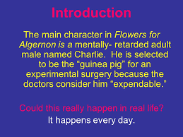 introduction to the theme of flowers for algernon ppt video introduction to the theme of flowers for algernon 2 could