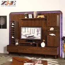 Tv Showcase New Design Wooden New Model Tv Cabinet With Showcase Living Room Led Tv