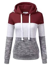 NINEXIS Womens Long Sleeve Cali Logo Pullover <b>Hoodie</b> ...