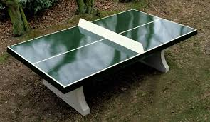 concrete ping pong table. Concrete Ping-Pong Table - Cornered Ping Pong