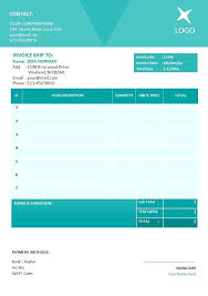 Invoice Templates For Microsoft Word Freelance Invoice Template Word