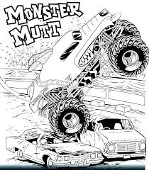 Grave Digger Monster Truck Coloring Pages Colouring Pages Monster