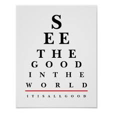 Eye Chart Poster Quote Eye Chart Poster