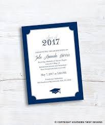 Graduation Announcement Inserts Tidee