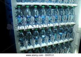 Water Bottle Vending Machine Mesmerizing A Vending Machine Filled With Bottled Water Stock Photo 48