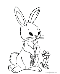 Rabbits Coloring Pages Peter Rabbit Coloring Pages Educational Fun ...