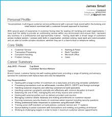 Tell Me About Your Previous Work Experience In Customer Service Customer Service Cv Example With Writing Guide And Cv Template