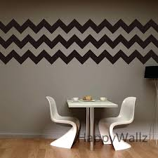 wall stripe decal chevron stripes wall stickers decorative chevron wall decal removable wall decoration modern mural wall stripe