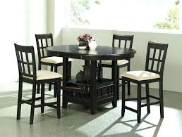 tall round kitchen table kitchen table bar stools 5 piece round counter height table set in