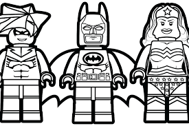 Amazing Lego Nightwing Coloring Pages Or Medium Size Of With
