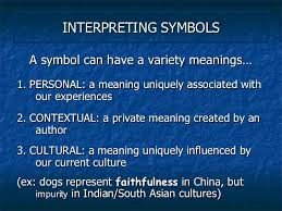 literary terms symbolism and allegory  3 interpreting symbols