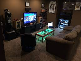 Cool Game Room Ideas For Basements Design Photos Stunning For Cool Gaming Room Designs
