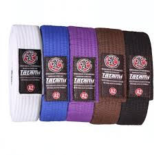 Tatami Belt Size Chart Adult Bjj Rank Belt All Colours