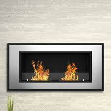 tulsa ventless wall mount bio ethanol fireplace