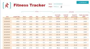 Workout Measurement Chart Measuring Your Fitness Progress Balance Gym
