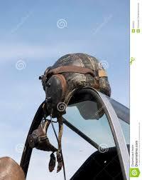 leather flight helmet
