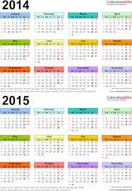 Word Template Calendar 2015 2014 Yearly Calendar Template In Word Sample Customer