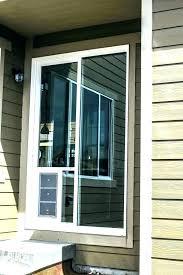 dog door for glass sliding insert homemade installation melbourne