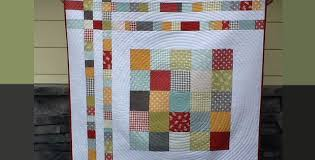 Charm Square Cheat Baby Quilt With Cozy Flannel Backing – Quilting ... & Charm Square Cheat Baby Quilt With Cozy Flannel Backing Adamdwight.com