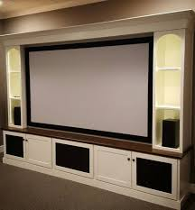 basement theater ideas. More Ideas Below: DIY Home Theater Decorations Basement Rooms Red Seating Small Speakers Luxury