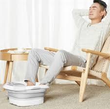 Массажная ванночка для ног <b>Xiaomi Leravan folding</b> massage foot ...