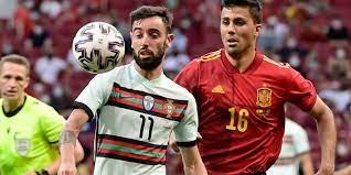 สเปน v โปรตุเกส ผลบอลสด ผลบอล ฟุตบอลอุ่นเครื่อง