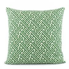 trellis kelly green and white lattice throw pillow  chloe  olive