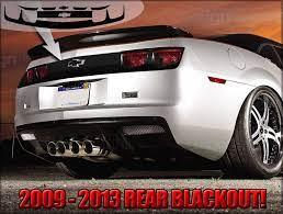Cme Rear Diffuser Revolution Styling Chevy Vehicles Camaro Car Camaro