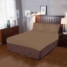 dark chocolate 3 piece bedding set id