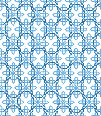 blue white pattern rug