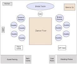 wedding reception layout wedding reception layouts i like how the families are divided