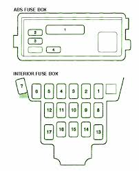 fuse box car wiring diagram page 380 1997 acura cl 3 0 under dash fuse box diagram