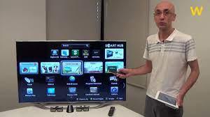 Akıllı televizyonlar için rol modeli Samsung ES8000 - YouTube